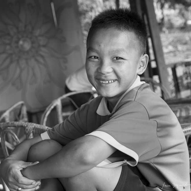 Daauw Kid in Huay Xai