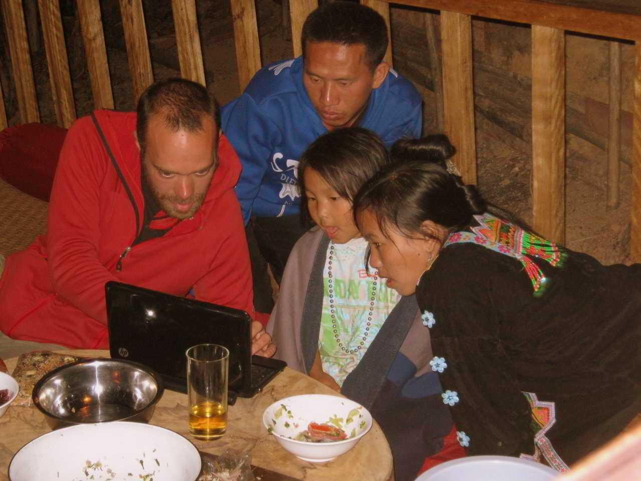 Inter cultural knowledge at Daauw Village Huay Xai