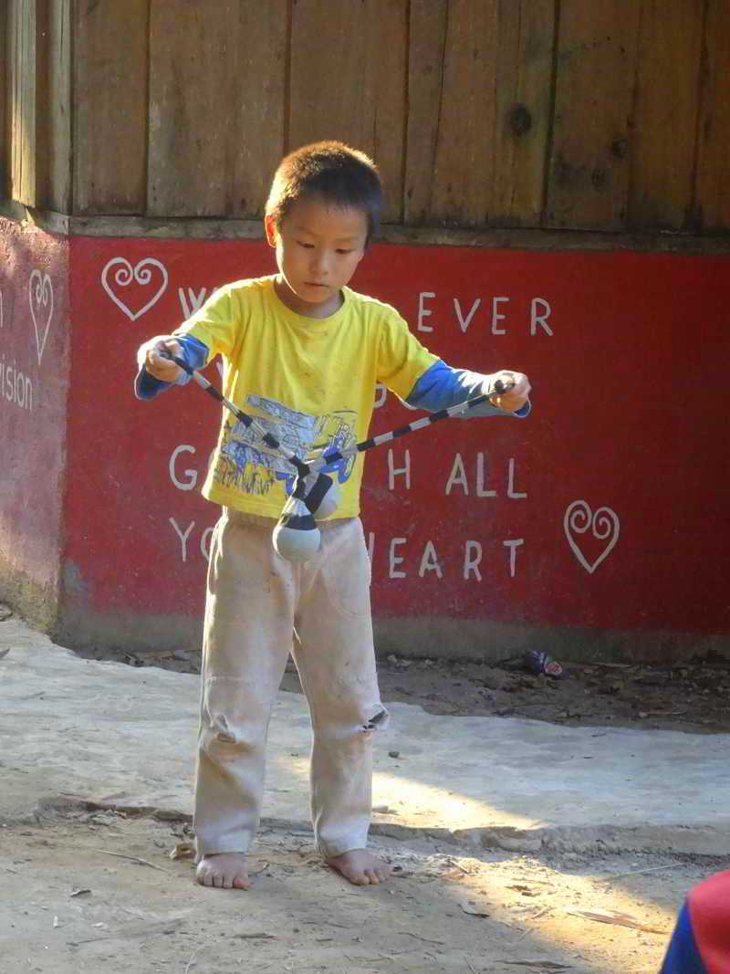 lao child playing