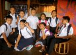 children of daauw wearing uniform - Kajsiab Children